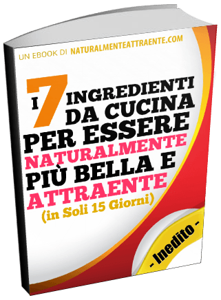in regalo l ebook 7 ingredienti naturali
