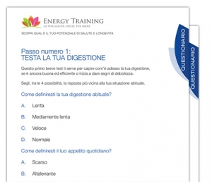 questionario corso energy training